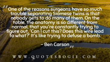 One of the reasons surgeons have so much trouble separating - QuotesBogie